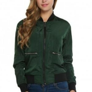 🆕⭐ British racing green bomber jacket⭐